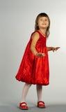 Het leuke meisje dansen Royalty-vrije Stock Foto