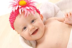 Het leuke meisje van de Baby Royalty-vrije Stock Fotografie