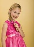 Het leuke Meisje van de Prinses Stock Afbeeldingen