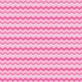 Het leuke naadloze roze en het wit van achtergrondchevronstrepen stock illustratie