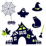 Het leuke pictogram van Halloween Royalty-vrije Stock Afbeeldingen
