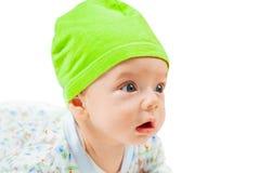 Het leuke portret van de babyjongen Stock Foto