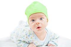 Het leuke portret van de babyjongen Royalty-vrije Stock Foto's