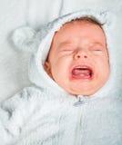 Het leuke portret van de babyjongen Royalty-vrije Stock Afbeelding