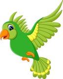 Het leuke vogel vliegen vector illustratie