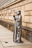 Het leven beeldhouwwerken Stock Foto