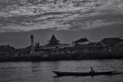 Het leven in Borneo Royalty-vrije Stock Afbeeldingen