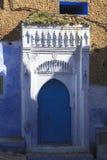 Het leven in Chefchaouen Medina in Marokko royalty-vrije stock afbeelding