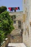 Het leven in de Oude Stad Jeruzalem Israël Royalty-vrije Stock Foto's