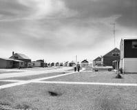Het leven in de voorsteden (Alle afgeschilderde personen leven niet langer en geen landgoed bestaat Leveranciersgaranties dat er  royalty-vrije stock foto
