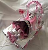 Het leven Dode Doll - Tina Pink Valentine & x27; s royalty-vrije stock foto's
