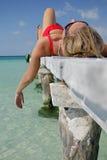 Het leven is een Strand Royalty-vrije Stock Foto