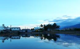 het leven in het Eiland van Formosa stock fotografie