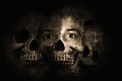 Het leven en dood Stock Afbeeldingen