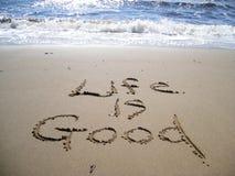 Het leven is Goed Stock Fotografie