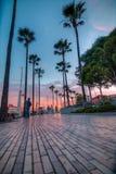 Het leven Happenning in Long Beach Stock Afbeeldingen