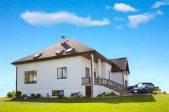 Het leven huis Stock Foto
