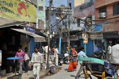 Het leven in India Royalty-vrije Stock Afbeeldingen