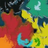 Het leven in kleur stock illustratie