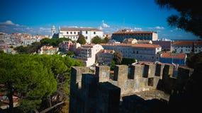 Het leven in Lissabon stock foto's