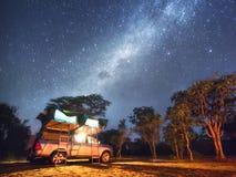 Het leven onder de sterren Stock Foto