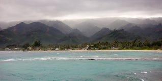 Het leven onder Hawaiiaans Onweer Royalty-vrije Stock Foto