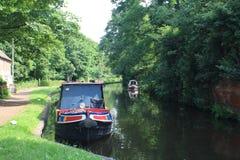 Het leven op de waterwegen royalty-vrije stock afbeeldingen