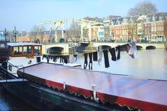 Het leven van Amsterdam, Nederland royalty-vrije stock fotografie
