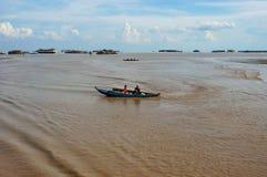 Het leven van de armen in Kambodja Royalty-vrije Stock Foto's