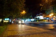 Het Leven van de nachtstraat in Mui Ne royalty-vrije stock foto