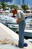 Het leven van de visser Stock Fotografie