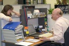 Het leven van het bureau Stock Foto