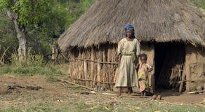 Het leven van het dorp Royalty-vrije Stock Foto