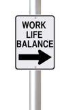 Het Leven van het werk brengt Deze Manier in evenwicht Stock Afbeelding