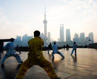 Het leven van Shanghai Stock Foto
