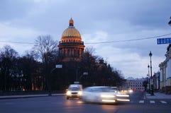 Het leven van St. Petersburg Stock Foto's