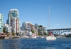 Het leven in Vancouver Stock Foto