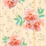 Het levendige bloemen herhalen Stock Fotografie