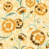 Het levendige bloemen herhalen Stock Afbeeldingen
