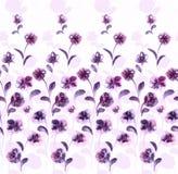 Het levendige bloemen herhalen Royalty-vrije Stock Afbeeldingen