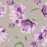 Het levendige bloemen herhalen Royalty-vrije Stock Foto