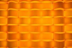 Het levendige oranje abstracte ontwerp van het fluweelbehang Stock Foto's