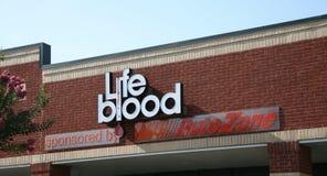 Het levensbloed, Memphis, TN Stock Foto