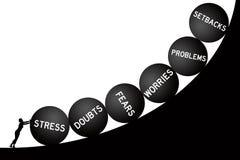 Het levensproblemen vector illustratie