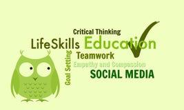 Het levensvaardigheden voor Onderwijsdoeleinden Stock Foto