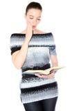 Het lezen van een goed boek Stock Fotografie