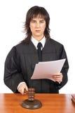 Het lezen van het oordeel royalty-vrije stock foto's