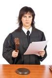 Het lezen van het oordeel royalty-vrije stock fotografie