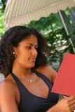 Het lezen van menu I Stock Foto's