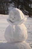 Het lichaam van de Sneeuwman Stock Foto's